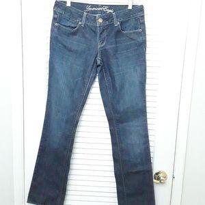 Denim Jeans Pants Blue Women's 30X31